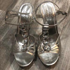 Silver Stilettos- 5inch